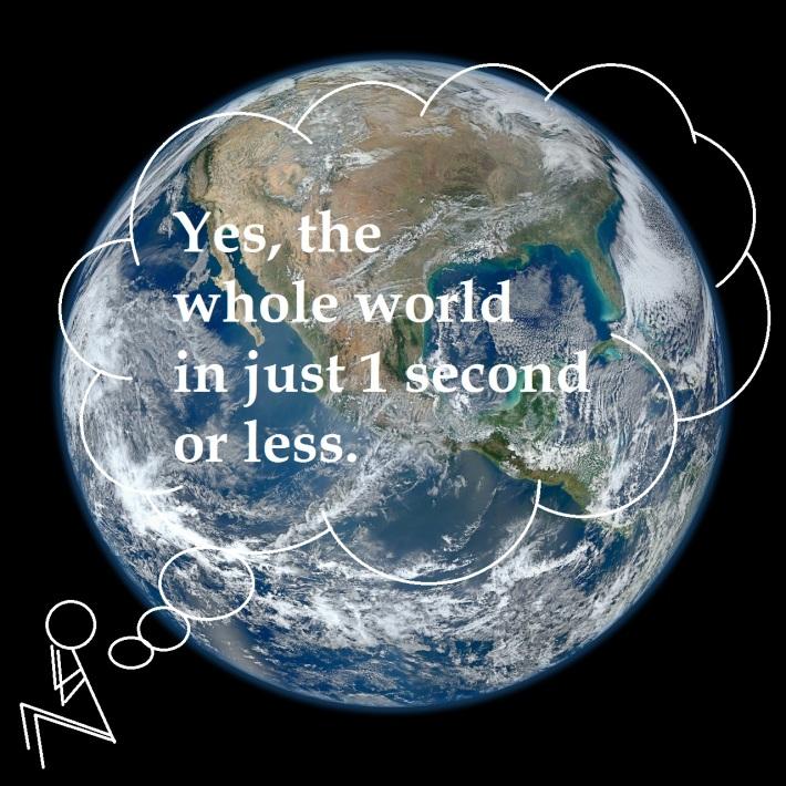 Access earth in 1 click