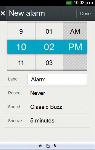 Reloj y Alarma