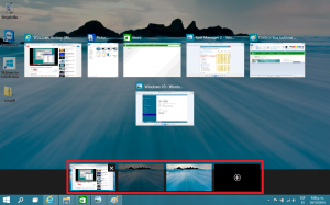 Multiple Desktops in Windows 10